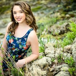 Ashley's senior portraits are simply stunning